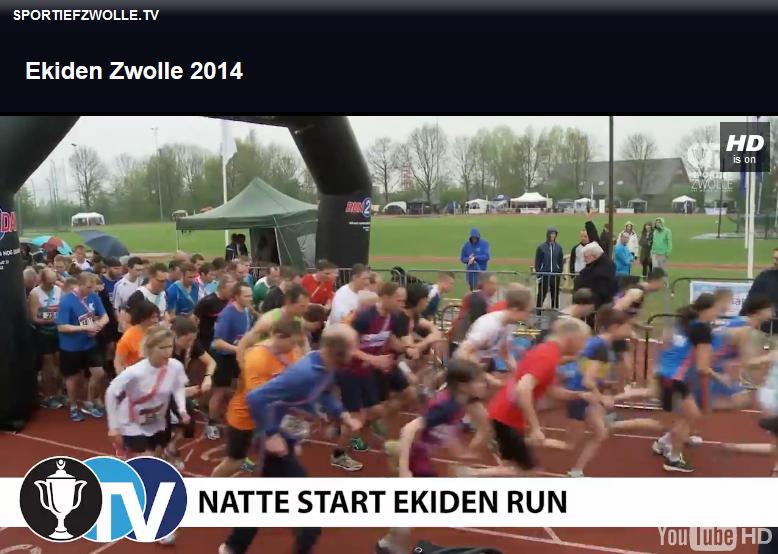 Sportief Zwolle - Ekiden Zwolle 2014